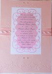 Pink On Pink Embossed Ribbon