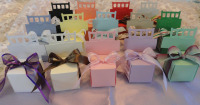 Chair Place Card Favor Boxes